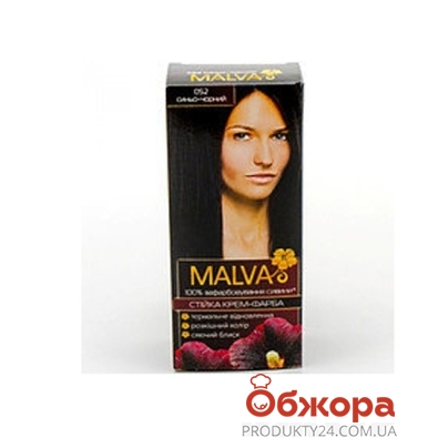 Краска Малва (Malva) hiar color иссиня-черный – ИМ «Обжора»