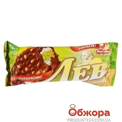 Мороженое Ласунка Лев Фисташка ванильная 80г – ИМ «Обжора»