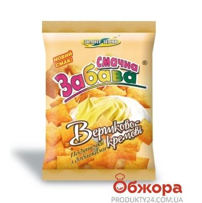 Кукурузные подушечки Золотое зерно Забава сливочно-крем. 100 г – ИМ «Обжора»