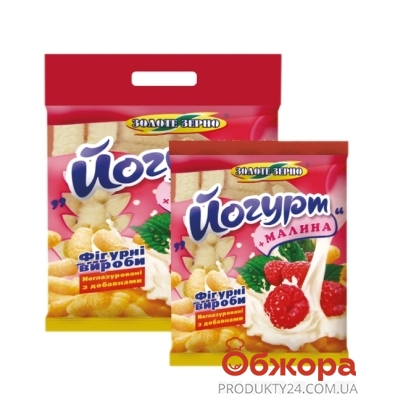 Кукурузные палочки Золотое Зерно йогурт-малина 200 г – ИМ «Обжора»