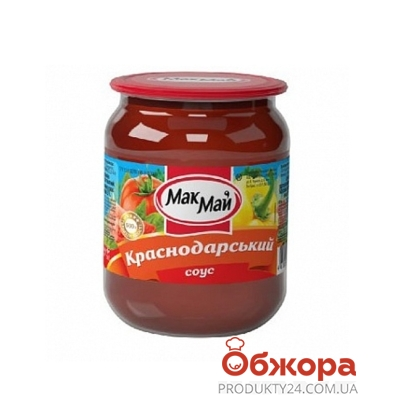 Соус Мак Май Краснодарский 500г – ИМ «Обжора»