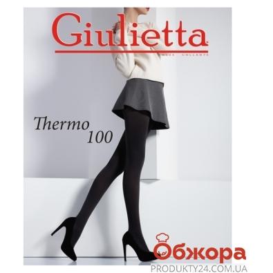 Колготы Джульетта (GIULIETTA) THERMO 100 NERO 4 – ИМ «Обжора»