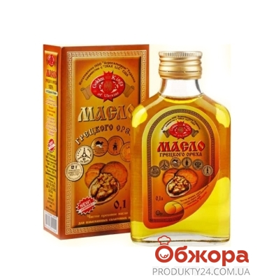 Масло грецкого ореха Голден Кингс (Golden Kings) 0,1 л – ИМ «Обжора»