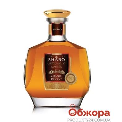 Коньяк Шабо (Shabo) Резерв VS 3* 0,5 л – ИМ «Обжора»