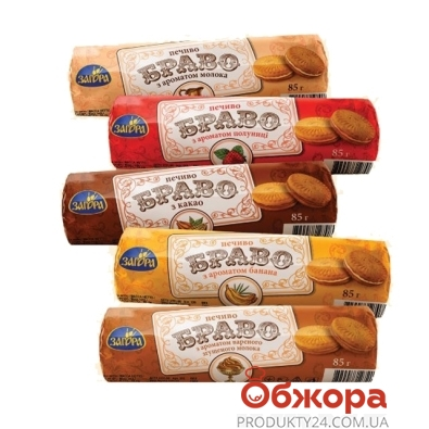 Печенье Загора 85г браво какао – ИМ «Обжора»