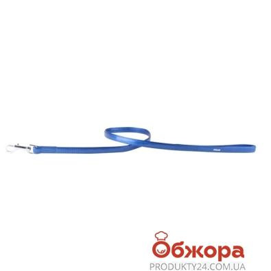 Поводок Коллар (Collar)  brilliance без украшений (ширина 13мм, длина 122см)синий 31202 – ИМ «Обжора»