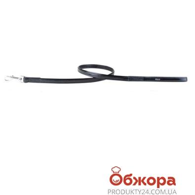 Поводок Коллар (Collar)  brilliance без украшений (ширина 13мм, длина 122см) чёрный 3096 – ИМ «Обжора»