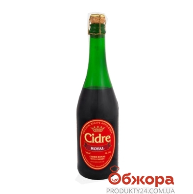 Напиток Сидр с/а красн. пуншевый Вишня 0,7 л – ИМ «Обжора»