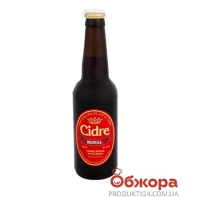 Напиток Сидр с/а красн.Вишня 0,33л – ИМ «Обжора»