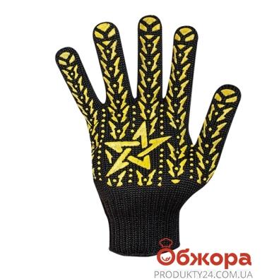 Перчатки Долони рабочие черн. со звездой 562 – ИМ «Обжора»