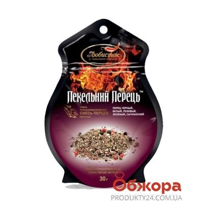 Приправа Смесь перцев молотая Адский перец (фиг. пакет) 30 г – ИМ «Обжора»
