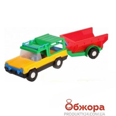 Машинка Сафари с прицепом 39006 – ИМ «Обжора»