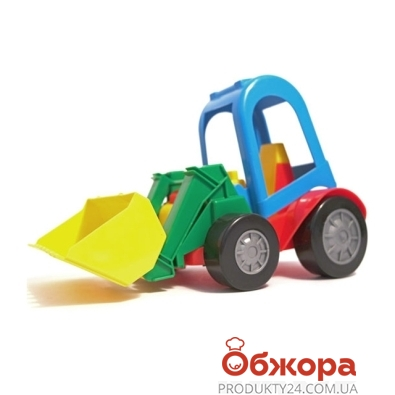Машинка Трактор с ковшом и прицепом 39229 – ИМ «Обжора»