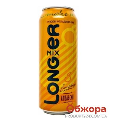 Напиток слабоалкогольный Лонгер 0.5 л   водка-апельсин – ИМ «Обжора»