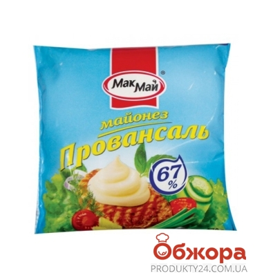 Майонез МакМай провансаль 67% 170 г – ИМ «Обжора»