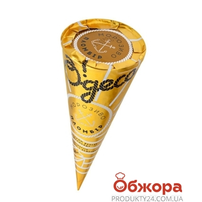 Мороженое Одесса рожок ваниль-шоколад 100г – ИМ «Обжора»