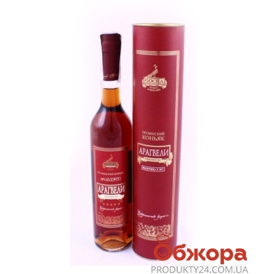 Коньяк Арагвели 5* 0.5 л – ИМ «Обжора»