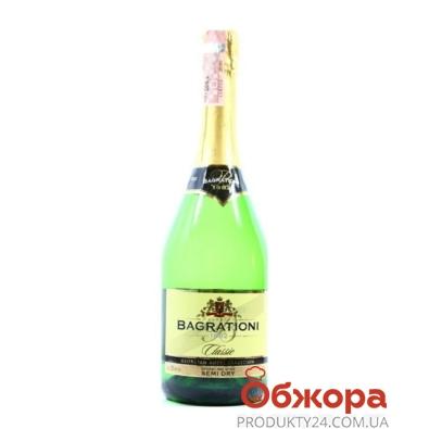 Шампанское Багратиони (Bagrationi) белое полусухое  0,75 л – ИМ «Обжора»