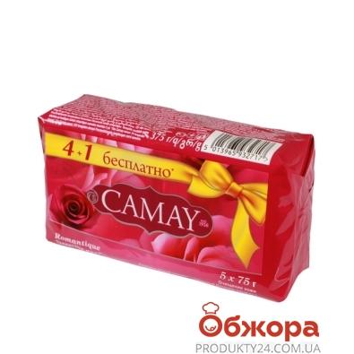Мыло Камей (Camay) Romantique 5*75г – ИМ «Обжора»