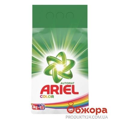 Стиральный порошок Ариель (ARIEL) ленор 3000г д/маш. стирки – ИМ «Обжора»