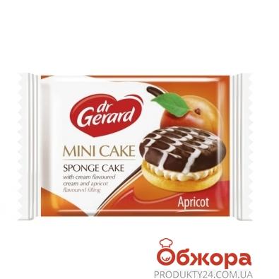 Печенье Доктор Жерар (Dr. Gerard) Mini cake 27,3г абрикос сливки – ИМ «Обжора»