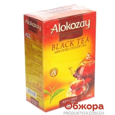 Чай Алокозай (Alokozay) черный крупнолистовой 100 г – ИМ «Обжора»