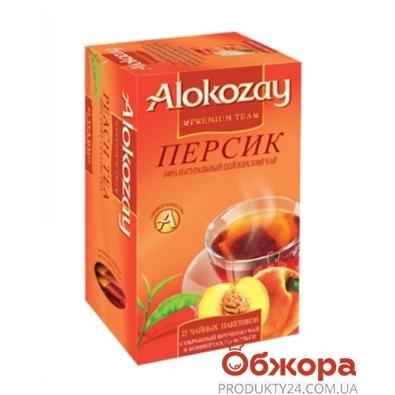 Чай Алокозай (Alokozay) черный с персиком 25 п – ИМ «Обжора»