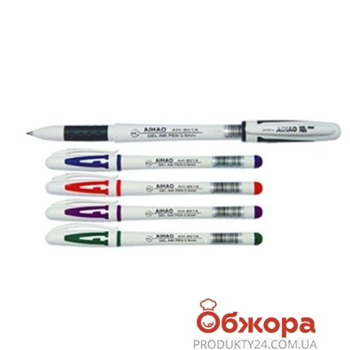 Ручка гелевая Aihao            801 – ИМ «Обжора»