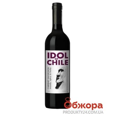 Вино Идол (Idol) Каберне Совиньон красное сухое 0,75 л – ИМ «Обжора»