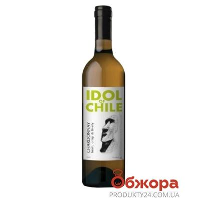 Вино Идол (Idol) Шардоне белое сухое 0,75 л – ИМ «Обжора»