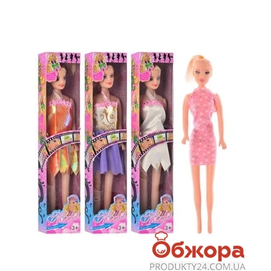 Кукла JT 66 В1-В4-В5-В6 27 см,4 вида,кор.,6-29-3,5 см – ИМ «Обжора»