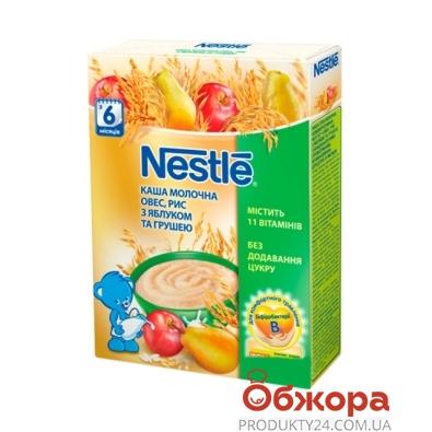 Каша Нестле (Nestle) овсяно-рисовая с ябл. и грушей 200г – ИМ «Обжора»