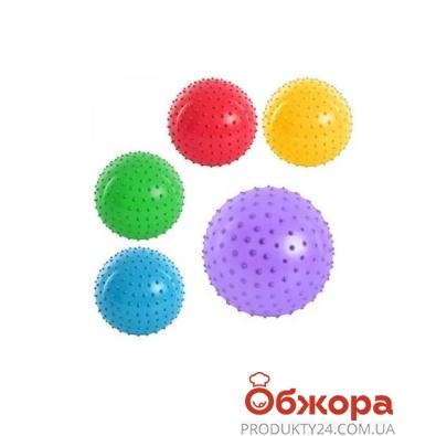 "Мяч массажный MS 0021 3 "" ПВХ 20 г, 6 цветов ODC51913 – ИМ «Обжора»"