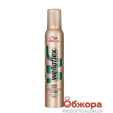 Пена для волос Веллафлекс (WELLAFLEX) 200мл ЭСФ с увлажн.компл. – ИМ «Обжора»
