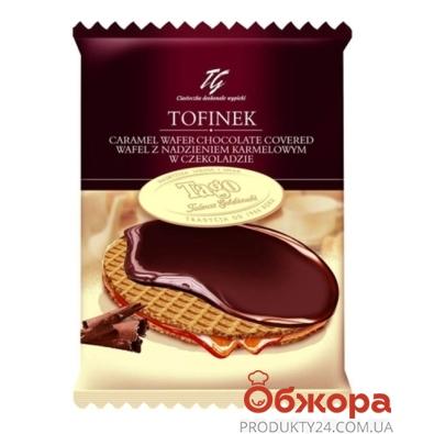 Вафли Таго (Tago) тиффинек карамель в шоколаде 50г – ИМ «Обжора»