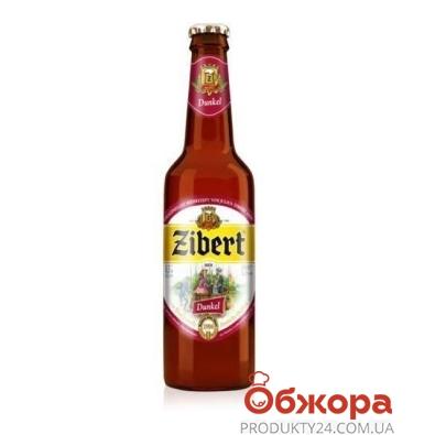Пиво Зиберт (Zibert) Дункел Тёмное пшеничное 0,5 л – ИМ «Обжора»