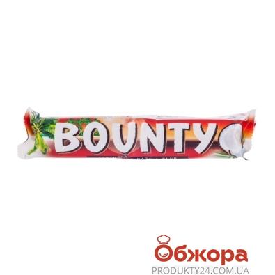 Шоколад Баунти черный 57г – ИМ «Обжора»
