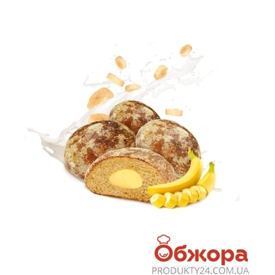 Пряник Ромны ласуньчик банан вес – ИМ «Обжора»