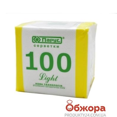 Салфетки Парус 100 шт. – ИМ «Обжора»