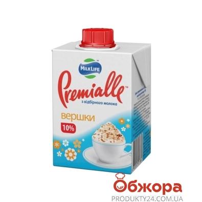 Сливки Премиалле (Premialle) 10% 200г – ИМ «Обжора»