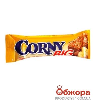 Батончик Корни (Corny) банан в молочном шоколаде 25г – ИМ «Обжора»