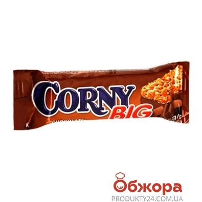 Батончик Корни (Corny) молочный шоколад 25г – ИМ «Обжора»