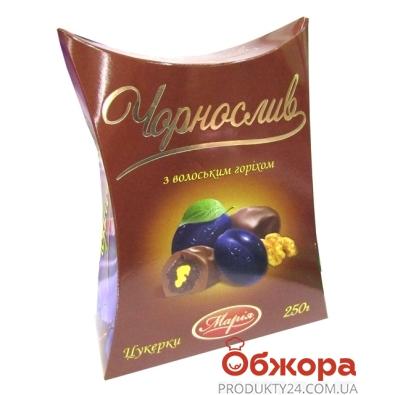 Конфеты Мария чернослив в шоколаде 250г – ИМ «Обжора»