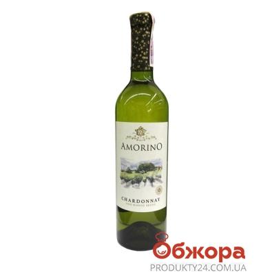 Вино Аморино (Amorino) Шардоне белое сухое 0,75 л – ИМ «Обжора»
