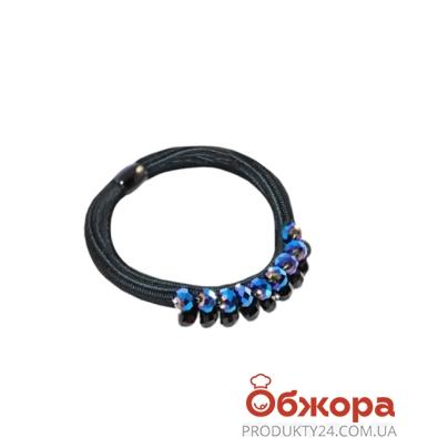 Резинка Ласковая для волос с камнями 1шт 50404 – ИМ «Обжора»