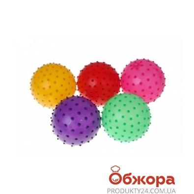 Мяч массажный MS 00213, 5 цветов – ИМ «Обжора»
