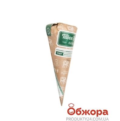 Мороженое Твоя Ферма  пломбир  в сах. рожке 110 г – ИМ «Обжора»