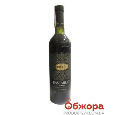Вино Криково (Cricova) Кружева Бастардо красное п/сл 0.75 л – ИМ «Обжора»