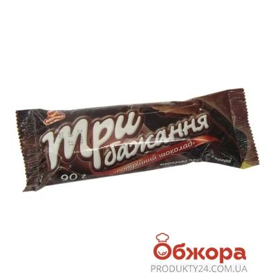 Мороженое Ласунка Три желания эскимо шокол в шокол.глаз 90г – ИМ «Обжора»