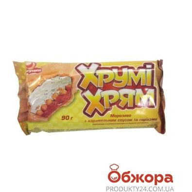 Мороженое Ласунка Хруми-Хрям брикет 90 г – ИМ «Обжора»